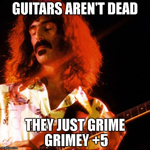 guitars arent dead