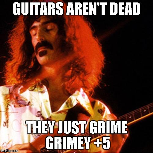 guitars arent dead
