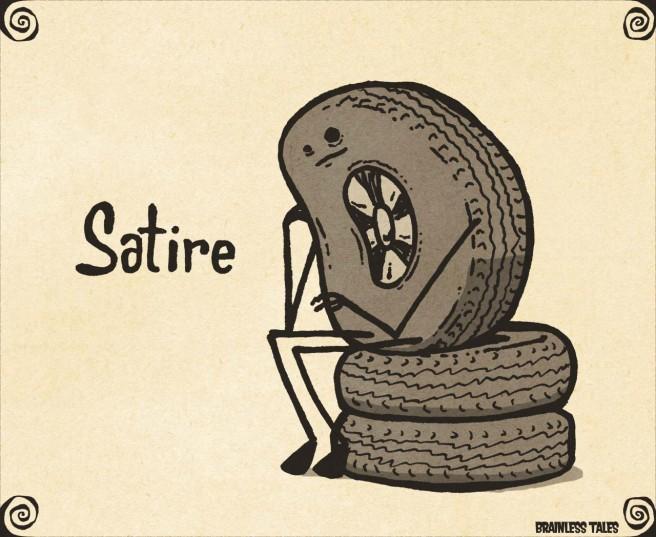 Image result for satire